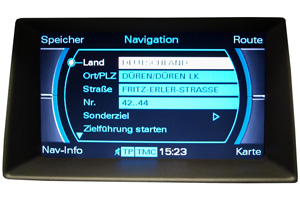 Audi A5 - Ausfall Multimedia-Interface - Navimonitor defekt