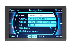Audi A4 - Multimedia-Interface - Navimonitor Defekt