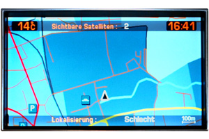 Citroën C4 - Navidisplay