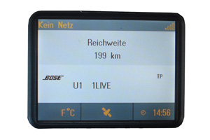 Opel Omega B - Repariertes CID-Display