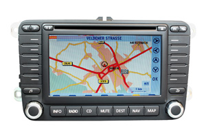 VW Eos - RNS-MFD 2 Navigation Softwarefehler-Reparatur