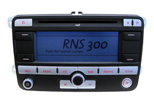 VW Caddy - RNS-300 Navigation Reparatur